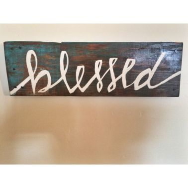 https://www.etsy.com/listing/256254676/reclaimed-wooden-blessed-sign